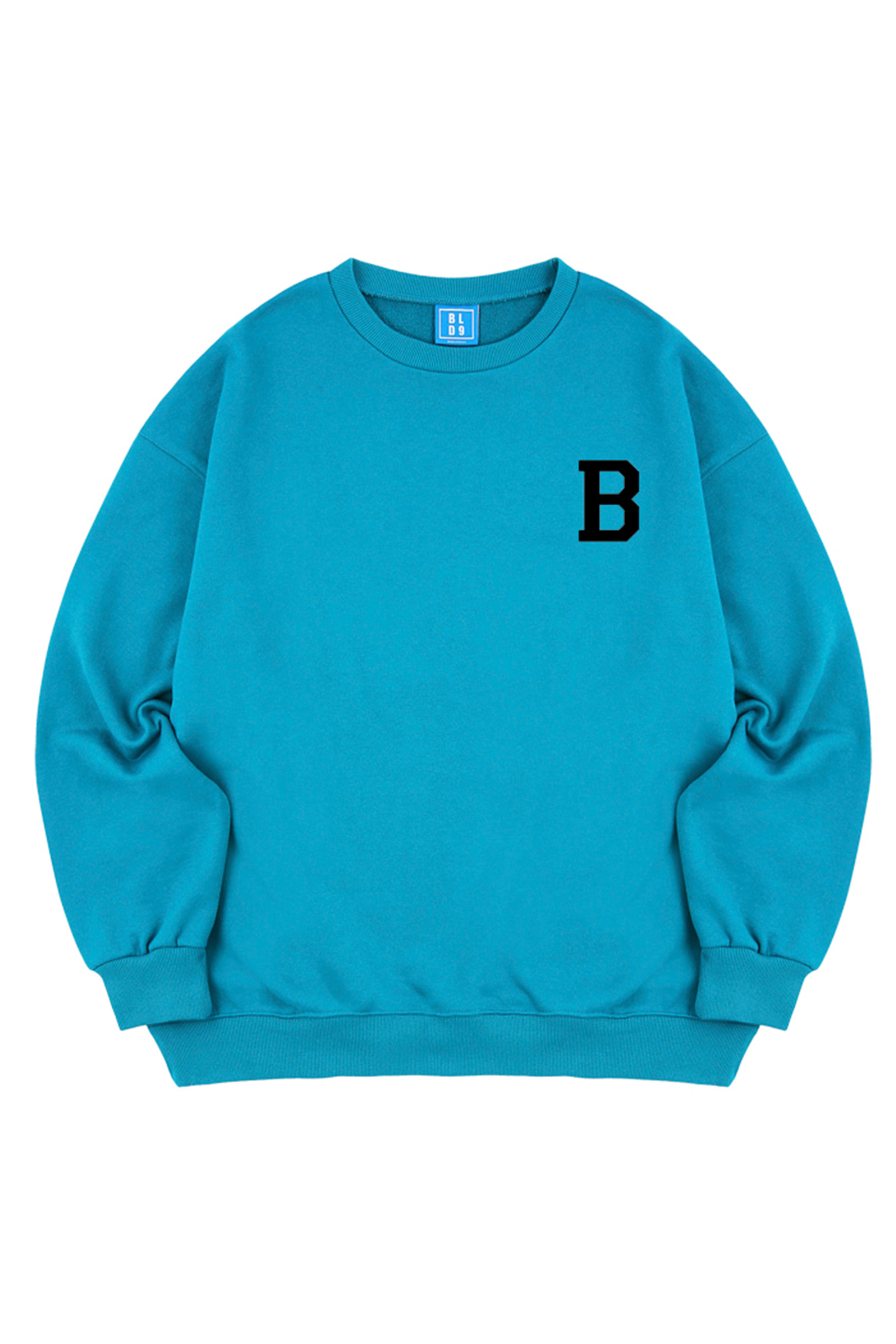 B BLACK LOGO SWEATSHIRT
